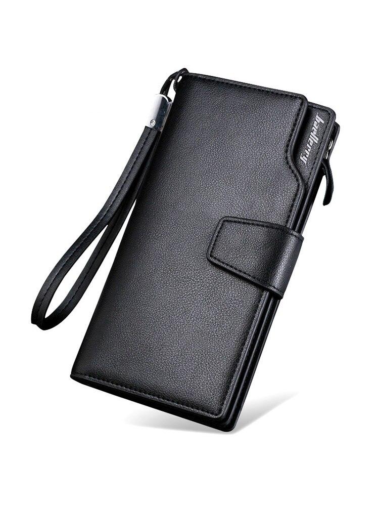 Wallet Coin-Purse Clutch Business Zippers Baellerry Luxury Brand Long Men Male