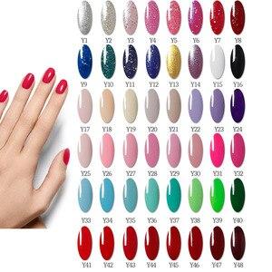 Image 5 - Manicure Set with Led Nail Lamp 120W Nail Set 30/20/10 Color UV Gel Nail Polish Kit Tools Set with Nail Drill Machine Nail files