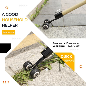 Image 4 - Mintiml Weeds Snatcher kosiarka do trawy pielenie głowy stal ogród chwastów Razors kosiarka do trawy ogród trawa maszyna do przycinania kosa do zarośli