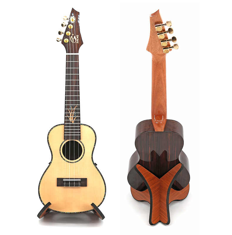 Guitar Stand Universal Wooden Thicken Plywood X-Frame Style Portable String New