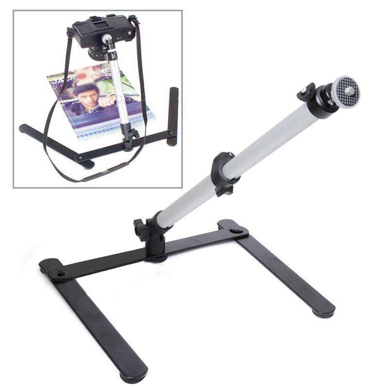Desktop Copying Stand Photo Studio Copying Holder Adjustable Tabletop Tripod Bracket For Camera DSLR Photography 42cm