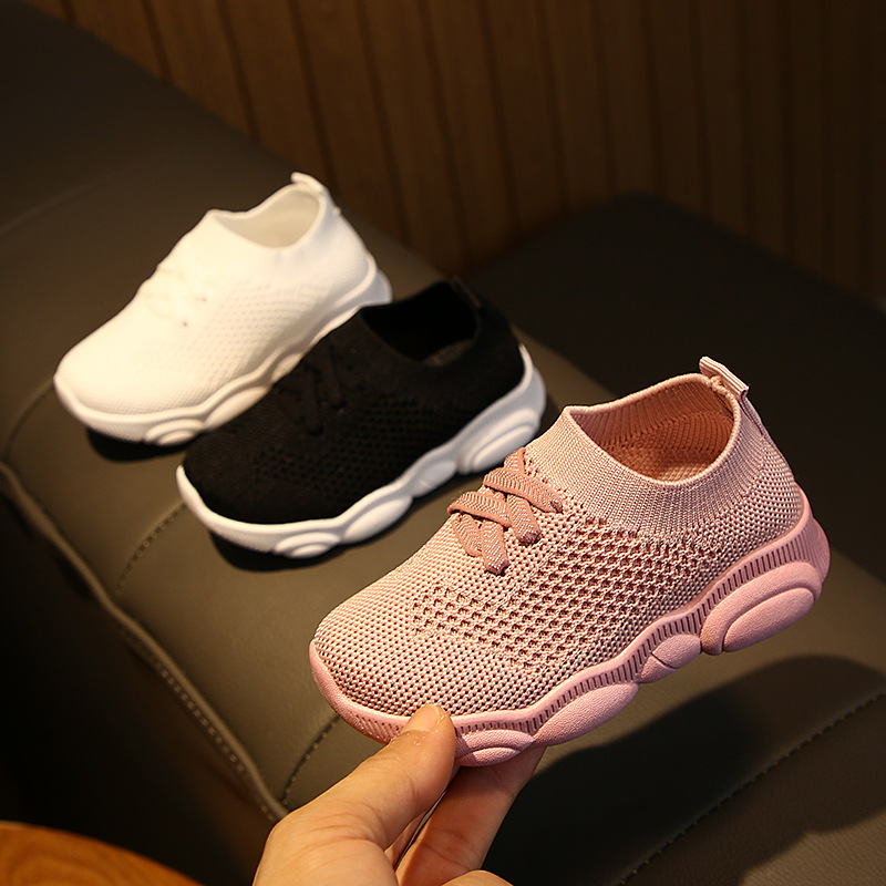 Baby Shoes Spring Autumn Toddler Boys Girls Soft Bottom Shoes Children Breathable Mesh Shoes 1 2 3 4 5 6 Year Kids First Walkers