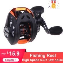 Fishing REEL 10   1BB Ball Bearings Baitcasting Reel Umpan Casting Memancing Reel Kecepatan Tinggi 6.3: 1