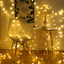 1M-6M/10-40LEDs Battery/USB  LED Star String Light Fairy Lights for Holiday Wedding Party Christmas Decor D40