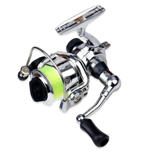 Mini XM100 Fishing Reel 2+1 Ball Bearings Fishing Tackle Accessories Stainless Steel Bait Casting Fishing Reels 9x9x8cm NEW albacore stainless steel main body bait casting reels suitable for lure or ocean boat fishing
