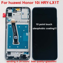 화웨이 명예 10i/20i HRY LX1T LCD 디스플레이 + 터치 스크린 디지타이저 어셈블리 LCD 교체 + 프레임 용 6.21 인치 100% 새 원본 Lcd