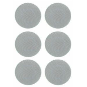 Image 1 - Herdio 4 Inch 160 Watts 2 Way Flush Mount in Wall in Ceiling 2 Way Home Audio Speaker System For Bathroom Kitchen Home 3 Pair