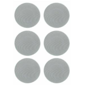 Image 1 - Herdio 4 inç 160 watt 2 yollu gömme montaj duvar tavan 2 yollu ev ses hoparlör sistemi için banyo mutfak ev 3 çift
