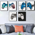 Abstract Game Console Control Handle Posters and Prints Canvas Paintings Wall Art Pictures for Living Room Decor No Frame