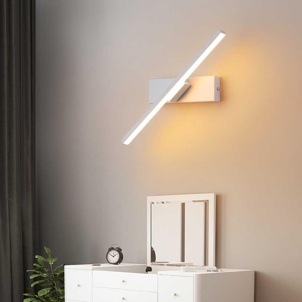 Lampu Dinding LED Kepribadian Kamar Tidur Samping Tempat Tidur Lampu Nordic Minimalis Modern Kreatif Tangga Lorong Ruang Tamu Berputar Lampu Dinding