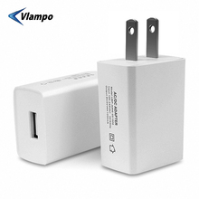 цена на VLAMPO 2020 US Plug For iphone Samsung Tablet Socket 5W Travel Charger Power Adapter Universal USB Portable Wall Fast Charger