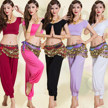 Adult Bellydance Costume Set Modal Dance Beginners' Practice Clothes Yoga Performance Women Bra Style Tops Short Pants