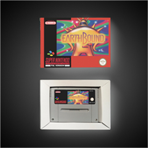 Earthbound - EUR Version RPG Game Card Battery Save With Retail Box