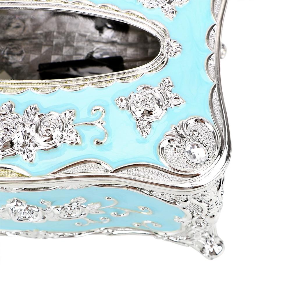 NICEYARD, роскошная Европейская коробка для салфеток, кухонный Органайзер, чехол для салфеток, декор для отеля, органайзер для дома, для хранения