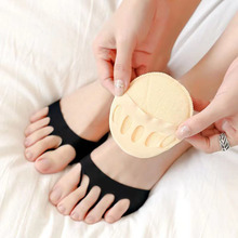 2Pcs Five Toes Forefoot Pads for Women High Heels Half Insoles Calluses Corns Foot Pain Care Absorbs Shock Socks Toe Pad Inserts
