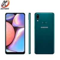 "Nuevo Samsung Galaxy A10s A107F-DS LTE teléfono móvil 6,2 ""2 GB RAM 32GB ROM doble cámara trasera 13MP + 2MP Dual SIM teléfono Android"
