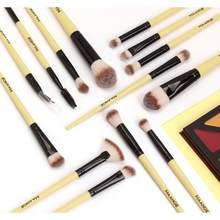 5 Color 1Set Makeup Brushes Tool Set Cosmetic Powder Eye Shadow Foundation Blush Blending Beauty Make Up Brush Maquiagem Brushes(China)