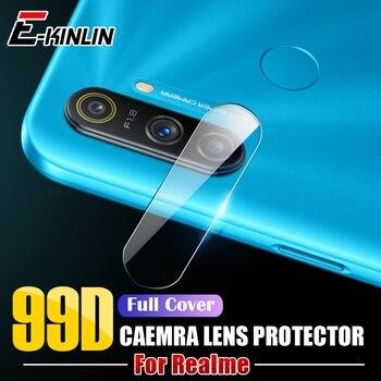 Перейти на Алиэкспресс и купить Защитная пленка для задней камеры для OPPO Realme C3 C3i C2 Narzo 10 10A Global Clear Camera Len, закаленное стекло, защита для экрана