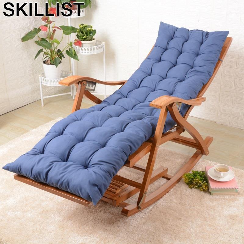 Poltrone Da Salotto Lazy Rocking Cama Plegable Bamboo Sillones Moderno Para Sala Folding Bed Sillon Reclinable Recliner Chair