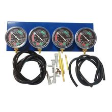 Universal Motorcycle Fuel Carb Carburetor Vacuum Gauge Synchronizer Balancer Testing Tools Kit for 4 Cylinder Engines кухонная мойка granfest rondo gf r480 d470 мм композитная черная
