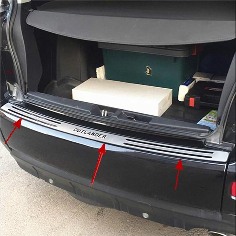 Высококачественный протектор заднего бампера из нержавеющей стали для Mitsubishi Outlander 2006 2007 2008 2009 2010 2011 2012