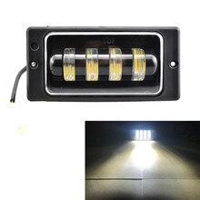 2 pcs/par conjunto da lâmpada de nevoeiro super brilhante 12v conduziu a luz de nevoeiro para lada 2110 -2117 luzes de nevoeiro