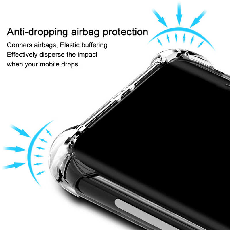 Ốp Lưng Điện Thoại Samsung A50 A10 A40 A90 A80 Silicone Mềm Mại Ốp Lưng Dành Cho Samsung Galaxy Samsung Galaxy S10 9 8 Plus Note 10 9 8 Sau Trong Suốt