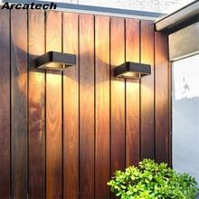 LED Wall Light Outdoor Waterproof Porch Light Garden Lamp Modern Indoor Wall Lamps Living Room Corridor Patio Lighting  NR-113