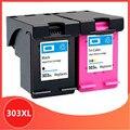 303XL совместимый чернильный картридж для hp 303 Замена для HP 303 xl зависть фото 6220 6230 6232 6234 7130 7134 7830 принтер