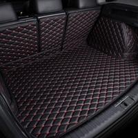 Custom fit car trunk mats for Land Rover Discovery 3/4 freelander 2 Sport Range Sport Evoque 6D car styling carpet liner|  -