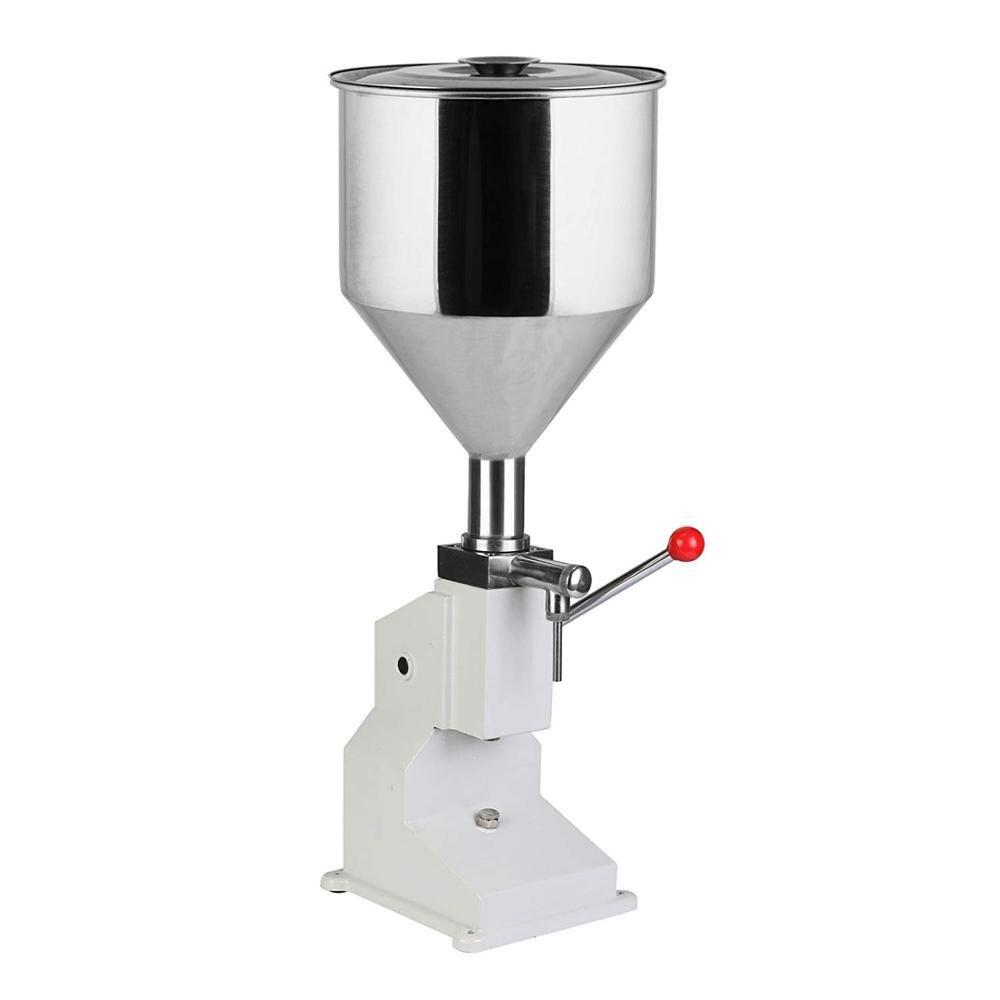 Машина для наполнения бутылок VEVOR 5-50 мл, разливочная машина из нержавеющей стали для крема, шампуня, косметики