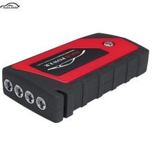 69800mAh 12V автомобильное пусковое устройство аварийного пускового устройства 4USB светодиодный светильник мобильное зарядное устройство автомобильное зарядное устройство