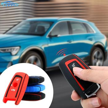 Silicone 3 Button Car Key Cover Key Bag Car Silicone Rubber Key Car Styling For BMW F10 X1 X3 X4 M1 M2 E46 E90 E39 G30 1 7 5 2 image