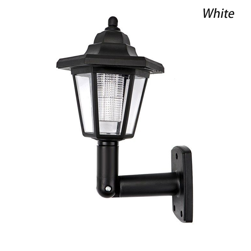 180 Degree Adjustable Garden Motion Sensor Led Wall Lamp Waterproof Outdoor Solar Powered Fence Light Landscape Hexagonal