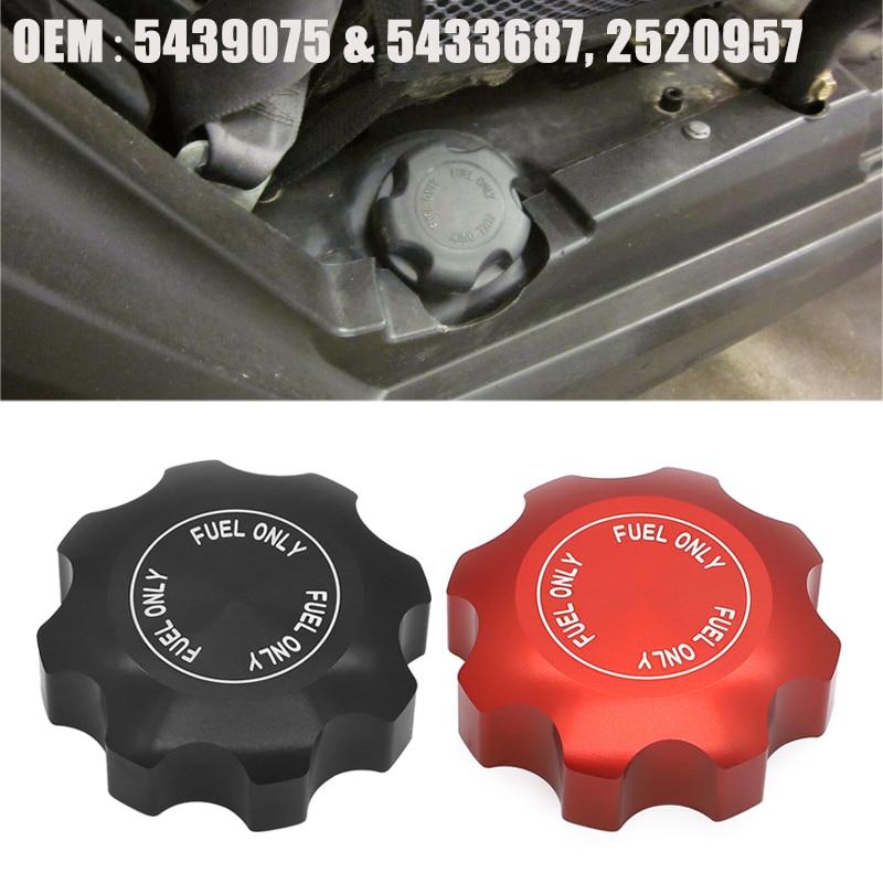 Fuel Gas Tank Cap For Polaris RZR Ranger 570 900 800 1000 Sportsman UTV 5433687 5439075 Snowmobiles ATVS Oil Fuel Filter Cover