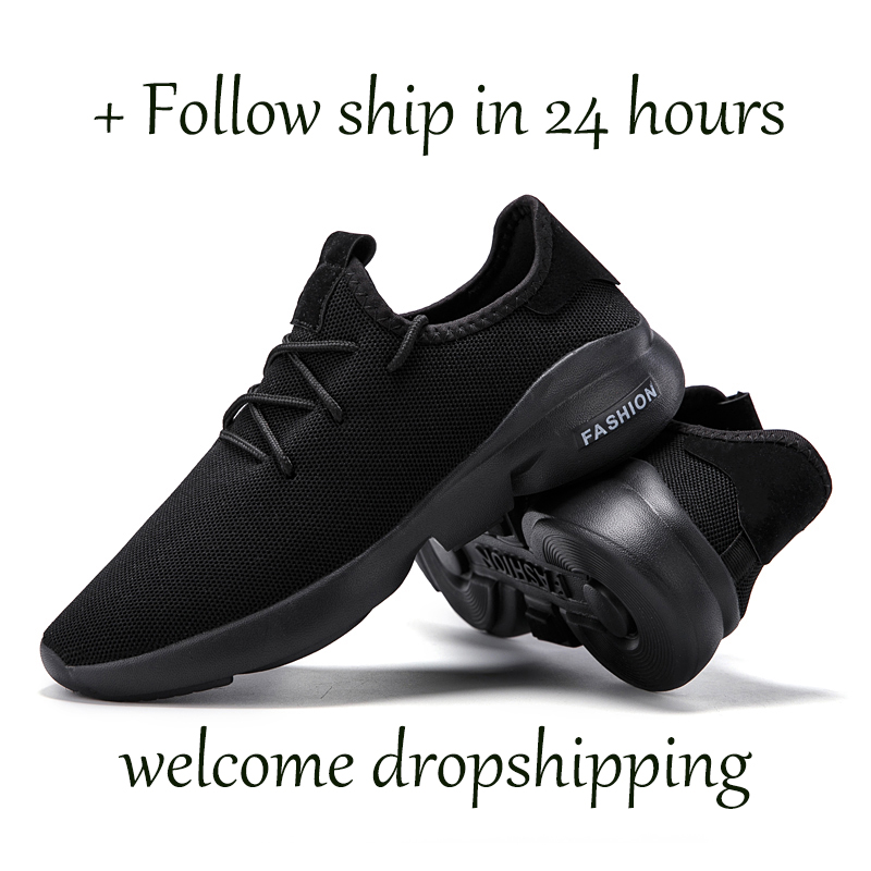 Hbe49c10bd6c2495e818f640533fd5453t Flyknit Men Shoes Light Sneakers Men Breathable Jogging Shoes for Men Rubber Tenis Masculino Adulto Plus 35 46 48