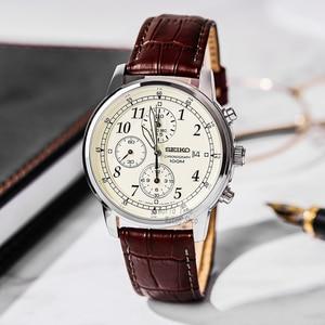 Image 2 - Seikoนาฬิกาผู้ชายหรูหราแบรนด์นาฬิกากันน้ำกีฬานาฬิกาChronographนาฬิกาควอตซ์นาฬิกาRelogio Masculino