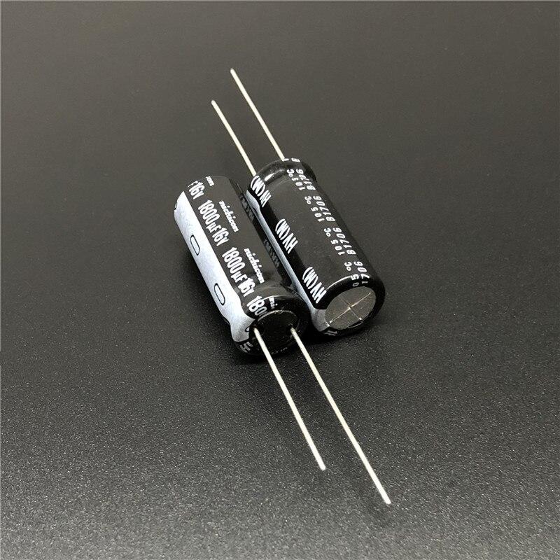 5pcs 2200uF 16V Japan ELNA 10x30mm Low Impedance Capacitor 16V2200uF