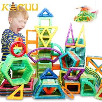 Regular/Big Size Magnetic Designer Building Construction Toys Set Magnet Educational For Children Kids Boys Girls Gift - discount item  50% OFF Building & Construction Toys