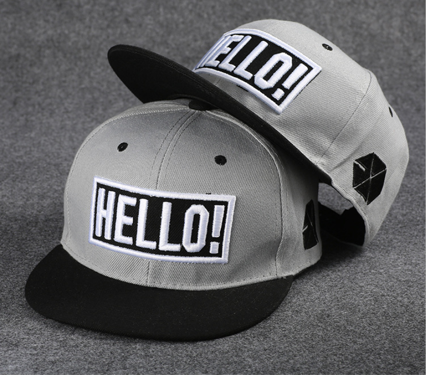 18 Color The New 2020 Fashion Couple Hat For Men Sunshade Hat For Women Fashion Cap Han Baseball Cap Exo Flat Edge Hip Hop Hat