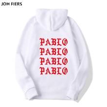 I Feel Like Paul Pablo Kanye West Sweat Homme hoodies Men Sweatshirt Hoodies Hip Hop Streetwear Hoody Hoodie