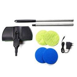 Gospodarstwa domowego bezprzewodowy elektryczna miotła z mikrofibry automatyczny mop maszyna akumulator podkładka do czyszczenia na piętro w domu czyste narzędzie na