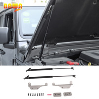BAWA Hood Lift Supports Struts Hydraulic Rod Engine Cover Hydraulic Rod Accessories for Jeep Wrangler JL 2018+