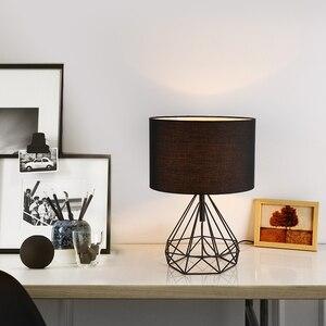 Новая Оригинальная креативная китайская настольная лампа, современная настольная лампа для гостиной, спальни, прикроватная лампа, алмазна...