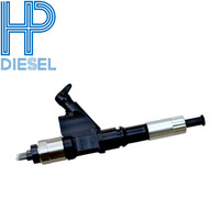 6pcs/lot Best price 095000 8010 Injector For Denso Diesel fuel injector Common rail diesel injector For nozzle DLLA145P1049