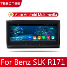 цена на Car Android System 1080P IPS LCD Screen For Mercedes Benz SLK Class R171 2004~2010 Car Radio Player GPS Navigation BT WiFi AUX