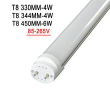 Led Tube T8 LED Tube 300mm 450mm High Power Led Tube Light Lamp Home 1feet LED Tube T8 4W 6W G13 AC 100-240V 220V SMD2835 t8 led tube bulb light g13 t8 led light tube bulb 120cm 60cm tubo led bulb tube light 18w 12w 10w t8 led tube 1pcs lot