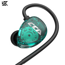 Cca csa 1dd alta fidelidade no fone de ouvido monitor fones de ouvido no esporte redução ruído fone de ouvido kz zsx zsn pro zs10 pro asx