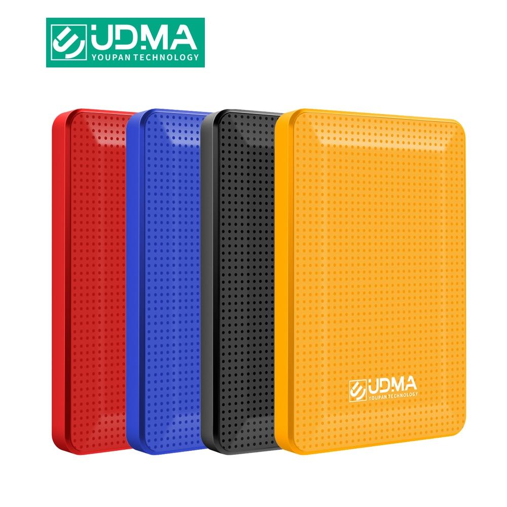 UDMA External Hard Drive Disk USB3.0 HDD 120G 160G 320G 500G 1TB 2TB HDD Storage for PC, Mac,Tablet, Xbox, PS4,TV box 4 Color