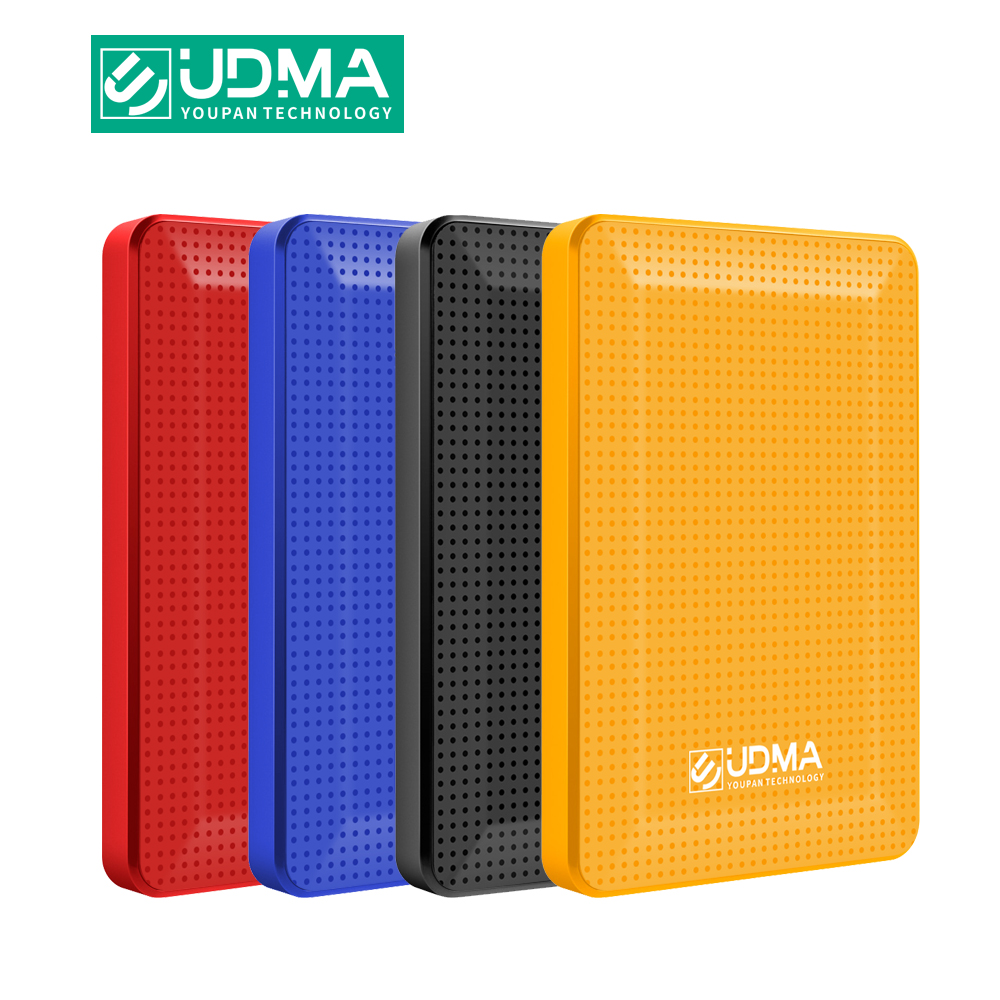 UDMA External Hard Drive Disk USB3.0 HDD 120G 160G 320G 500G 1TB 2TB HDD Storage For PC, Mac,Tablet, Xbox, PS4,TV Box 4 Color